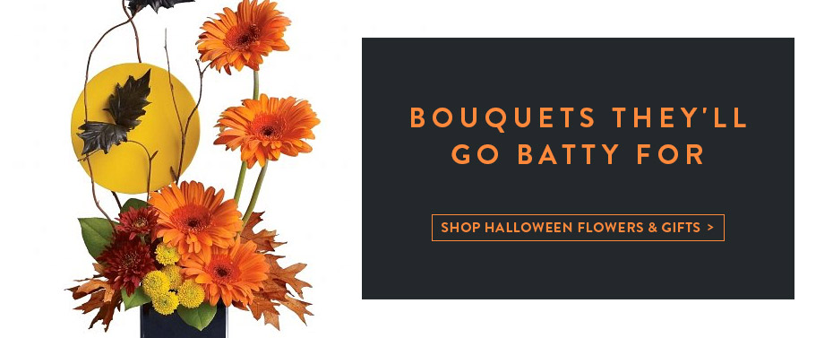 Bouquets They'll Go Batty For.