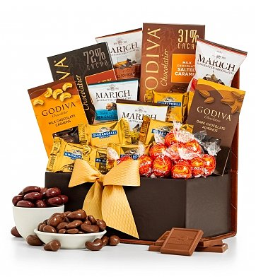 Chocolate & Sweet Baskets: Congratulations Chocolate Collection