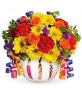 Flower Bouquets: Brilliant Birthday Blooms