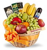 Fruit Gift Baskets: Elite Thank You Gourmet Fruit Basket
