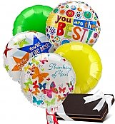 Balloons & Chocolate: Thinking of You Balloons & Chocolates-5 Mylar