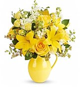 Flower Bouquets: Sunny Outlook Bouquet