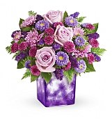 Flower Bouquets: Happy Violets Mother's Day Bouquet
