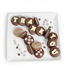 Desserts Confections Gifts: Chocolate Covered Thank You Oreo<sup>®</sup> Cookies