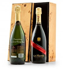 Personalized Wine Gifts: Engraved G.H. Mumm Champagne Celebration
