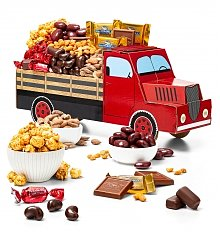 Gourmet Gift Baskets: Special Delivery Chocolate Truck
