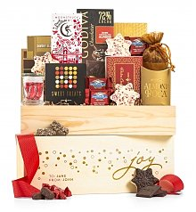 Personalized Keepsake Gifts: Holiday Joy Chocolate Crate
