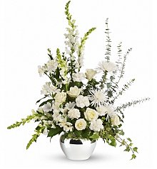 Funeral Flowers: Serene Reflections Bouquet