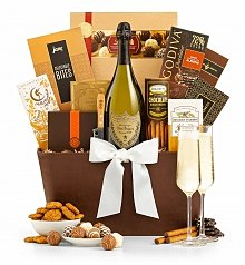 Champagne Gift Baskets: The Royal Champagne Gift Basket