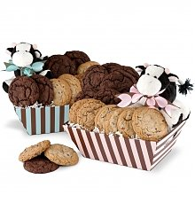 Cookie Gift Baskets: New Baby Cookie Basket