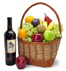 Wine & Fruit Baskets: California Classics for Dad