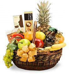 Food & Fruit Baskets: Premium Basket